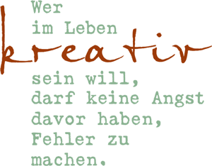 slogan kreativ green