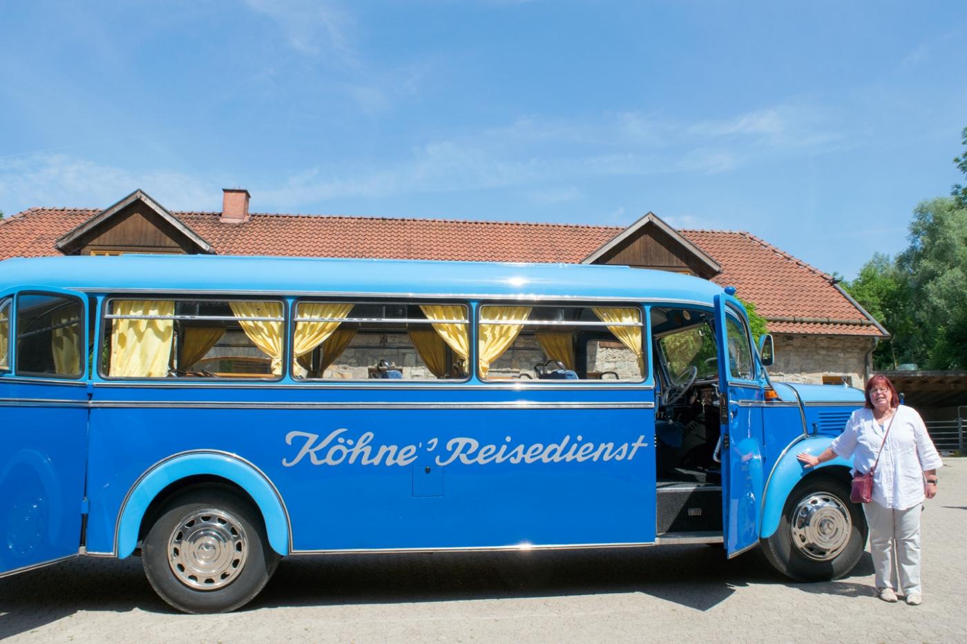 Lipperland Tour mit dem blauen Köhne Bus