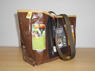 Tasche aus Kaffeetüten