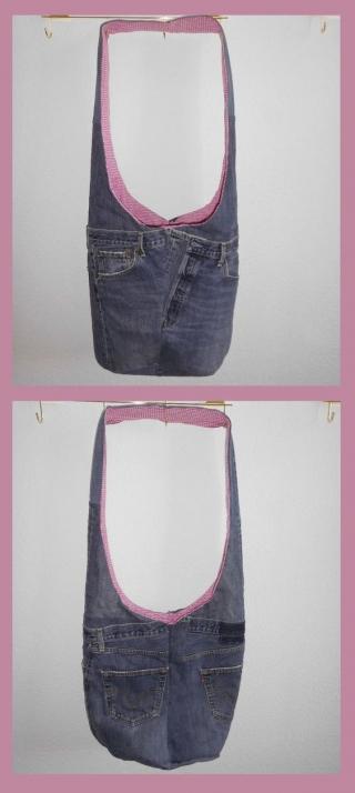 Umhängetasche aus Jeans