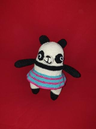 Panda Frau