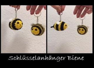 Schlüsselanhänger Bienen