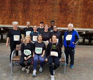 2700 LäuferInnen und WalkerInnen beim Firmenlauf in Bad Salzuflen - Das Dach war dabei!!!