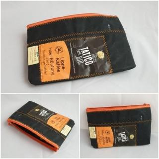 Mäppchen Schwarz- Orange